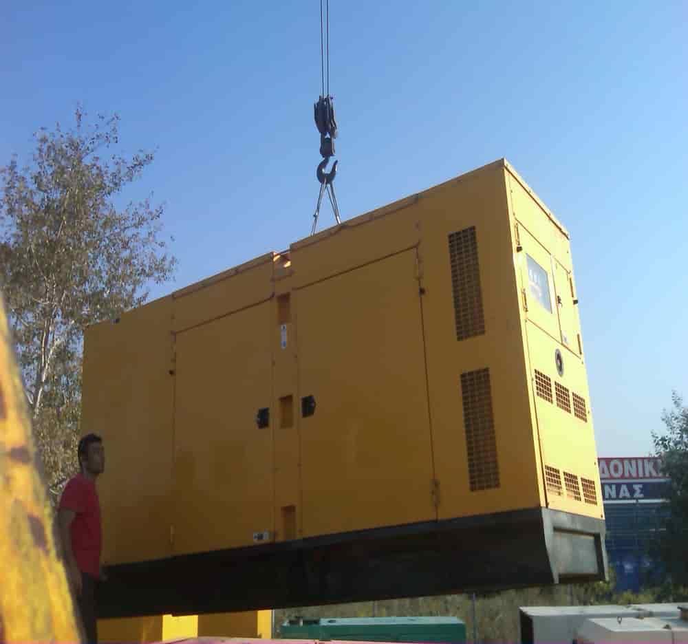 τοποθετήσεις μηχανημάτων γερανομεταφορές Θεσσαλονίκη φορτοεκφορτώσεις